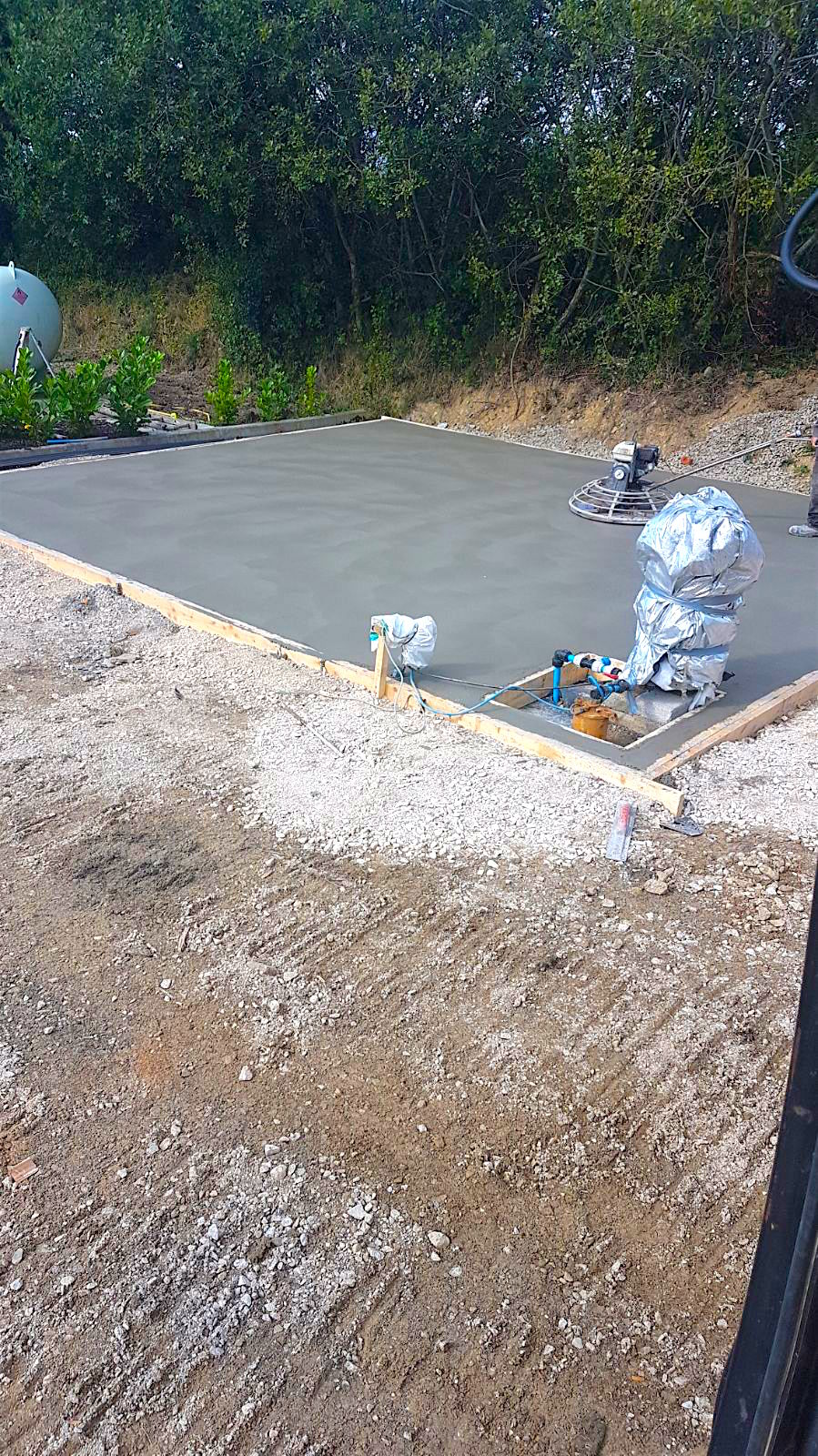Base for Steeltech shed in Mallow
