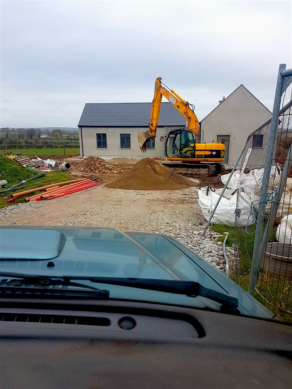 Pipelaying in Killeagh